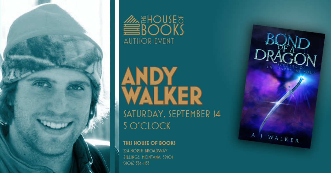 Andy Walker at This House of Books, your member-owned, independent bookstore & tea shop in downtown Billings, Montana