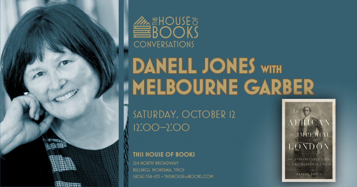 Danell Jones and Melbourne Garber at This House of Books, your member-owned, independent bookstore and tea shop in downtown Billings