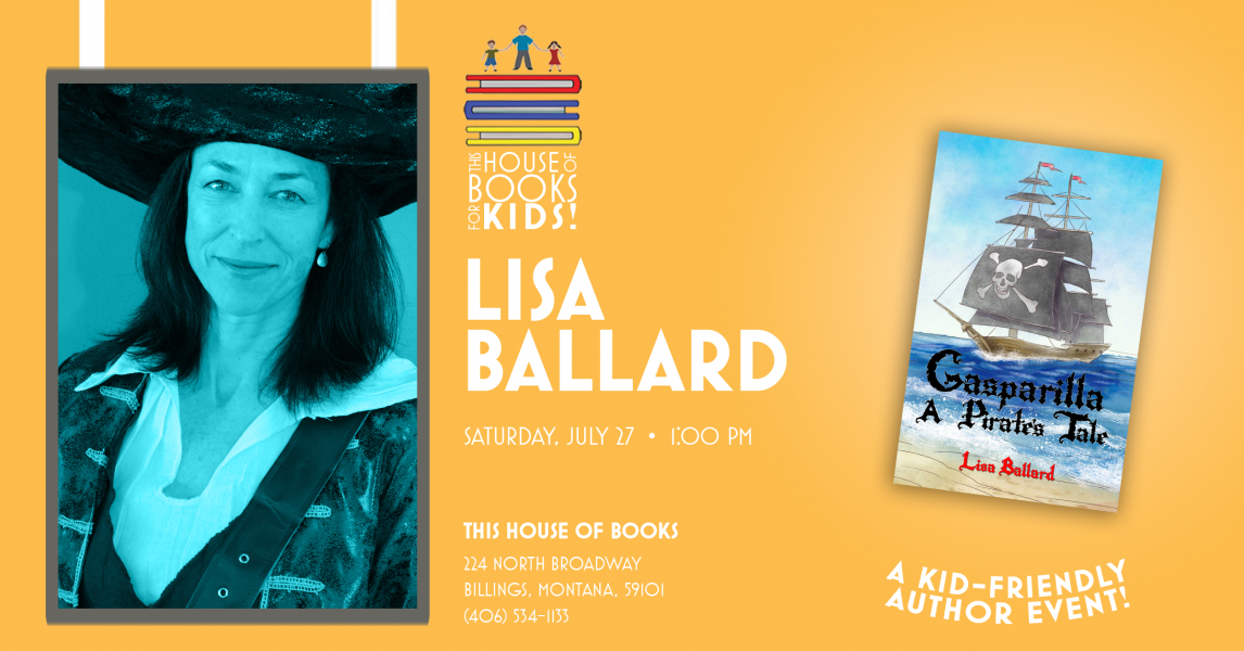 Lisa Ballard introduces her book for children at This House of Books, your member-owned, independent bookstore & tea shop in downtown Billings, Montana