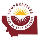 Logo for Montana Cooperative Development Center, an early supporter for This House of Books, the community-owned independent bookstore and tea shop in downtown Billings, Montana