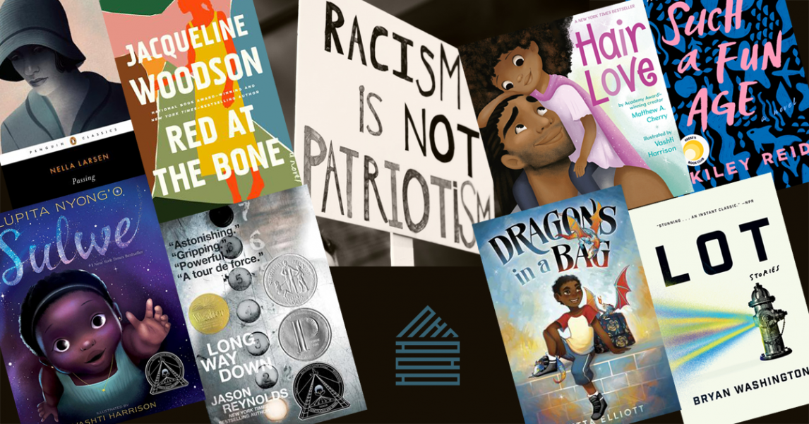 Reading List for Anti-Racists—titles available at This House of Books, your member-owned, indie bookstore & tea shop in downtown Billings, Montana