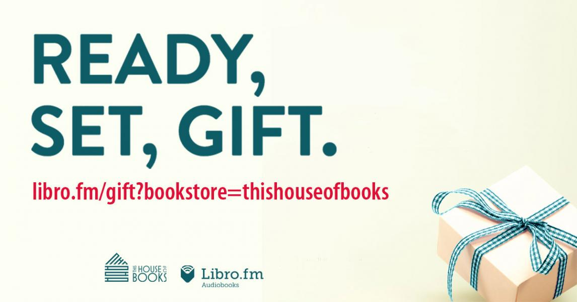 Audio books through our partner, Libro.fm, are available from This House of Books, your community-owned, independent bookstore and tea shop in downtown Billings, Montana