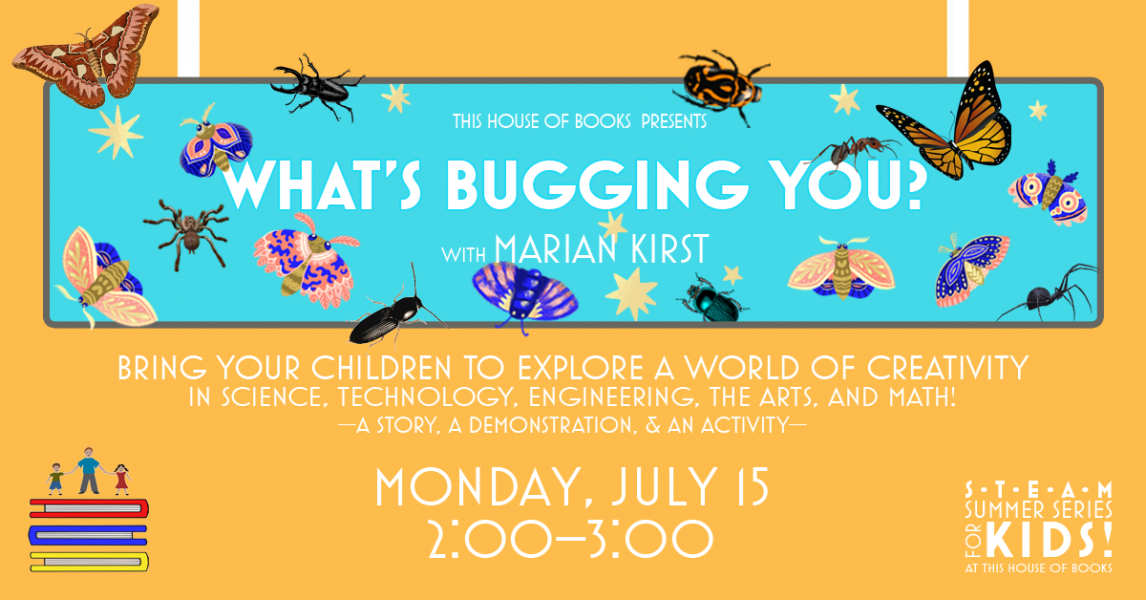 Summer Events for Kids at This House of Books, your member-owned, independent bookstore & tea shop in downtown Billings, Montana